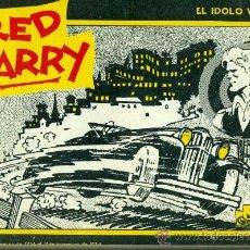 Cómics: RED BARRY - EDICIONES B.O. 1982 - EL IDOLO VERDE. Lote 25371179