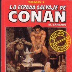 Cómics: LA ESPADA SALVAJE DE CONAN , TOMOS COLOR ROJO - LOTE DE 33 TOMOS /ENVIO CERTIFICADO GRATIS. Lote 25457167