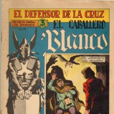 Cómics: TEBEOS-COMICS GOYO - CABALLERO BLANCO Nº 30 - ULTIMO - ORIGINAL *BB99. Lote 23518498