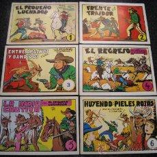 Cómics: GRAN LOTE DE EL PEQUEÑO LUCHADOR DEL Nº 1 AL 6, DOBLES, CON LOS 12 PRIMEROS NOS.. Lote 26380652