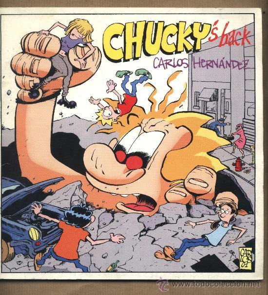 CHUCKY'S BACK. CARLOS HERNÁNDEZ. EDICIONES EL BATRACIO AMARILLO. MOTRIL. GRANADA. (Tebeos y Comics - Comics otras Editoriales Actuales)