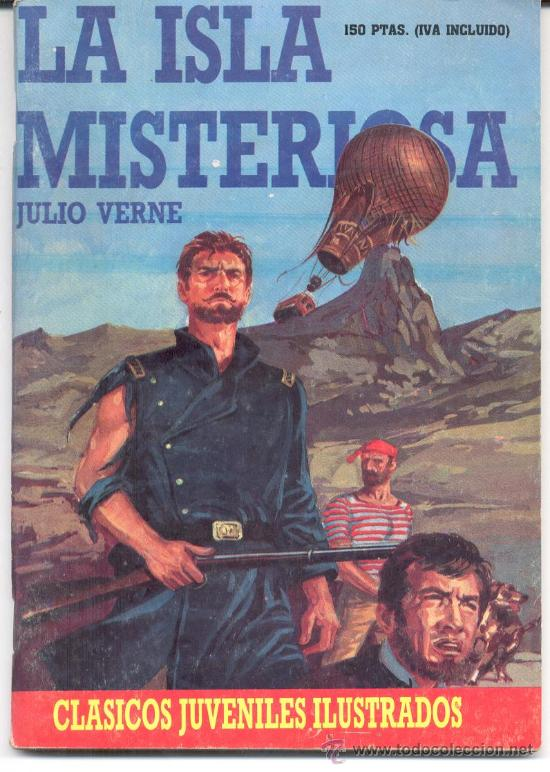 La Isla Misteriosa Julio Verne Clasicos Juvenil Sold Through