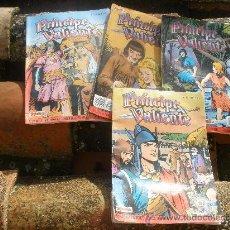 Cómics: EL PRINCIPE VALIENTE.CUATRO TEBEOS DE EDICION HISTORICA 1988.. Lote 26530622