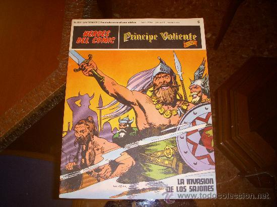 PRINCIPE VALIENTE Nº 6, HEROES DEL COMIC, EDITORIAL BURULAN (Tebeos y Comics - Buru-Lan - Principe Valiente)
