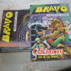 Cómics: EL CACHORRO FALTA 1 NUMERO DE 41,DE BRAVO.. Lote 22792092