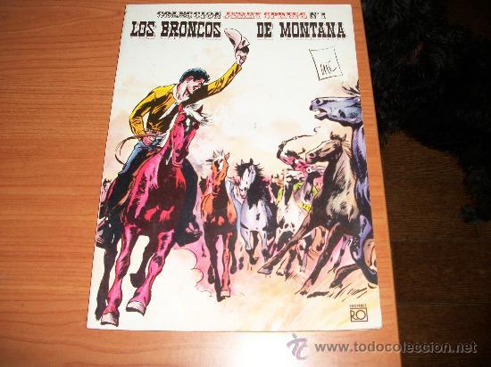 JERRY SPRING Nº 1 LOS BRONCOS DE MONTANA EDICIONES RO 1982 (Tebeos y Comics - Comics otras Editoriales Actuales)