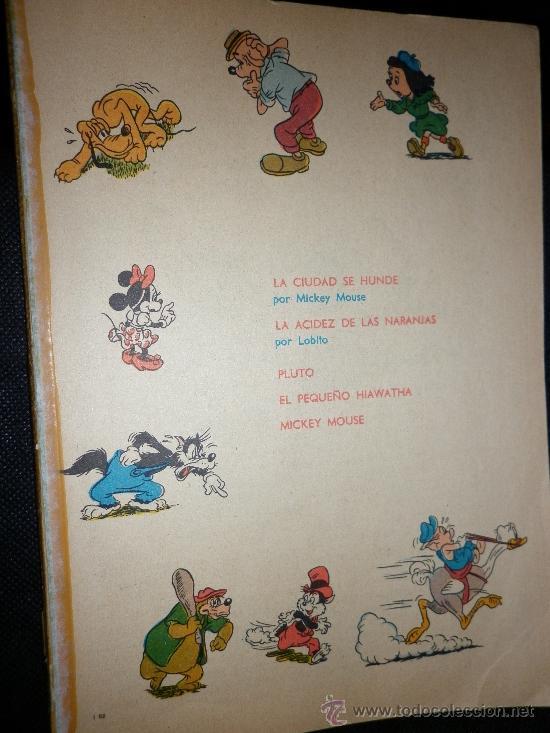 walt disney, colección dumbo, 1972: mickey, lob - Comprar Tebeos y ...