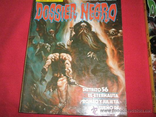 Cómics: 3 COMICS EXTRAS DE DOSSIER NEGRO Nº 1-4-5.-AÑOS 1970. - Foto 4 - 35725905