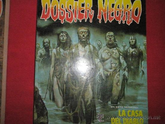 Cómics: 3 COMICS EXTRAS DE DOSSIER NEGRO Nº 1-4-5.-AÑOS 1970. - Foto 5 - 35725905