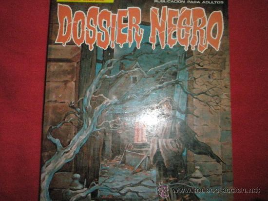 Cómics: 3 COMICS EXTRAS DE DOSSIER NEGRO Nº 1-4-5.-AÑOS 1970. - Foto 3 - 35725905