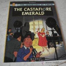 Cómics: TINTIN - THE CASTAFIORE EMERALD - MAGNET 1983. Lote 23191719