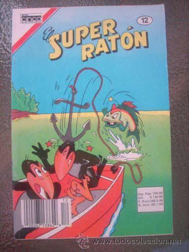 Cómics: LOTE DE 5 HISTORIETAS DEL SUPER RATON - Editora CINCO - Colombia - 1982 RARO PARA COLECCIONISTAS - Foto 3 - 27204989