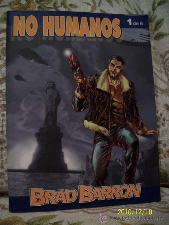 BRAD BARRON (Tebeos y Comics - Comics Colecciones y Lotes Avanzados)