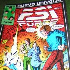 Cómics: TEBEOS Y COMICS - NUEVO UNIVERSO - PSI FORCE - NUMERO 7 - MARVEL 1987. Lote 23560296