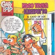 Cómics: TEBEOS Y COMICS - REVISTA SEMANAL GARIBOLO ESPECIAL - AÑO 1987 - JUEGUETES DIABOLICOS. Lote 23579931