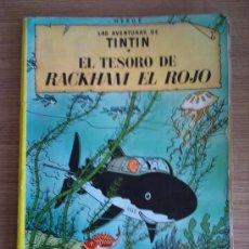 Cómics: COMIC DE TIN TIN - HERGE - LAS AVENTURAS DE RACKHAM EL ROJO - JUVENTUD . Lote 24087328