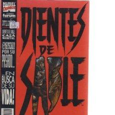 Cómics: DIENTES DE SABLE - COLECCIÓN COMPLETA 4 EJEMPLARES (FORUM) - CJ35. Lote 24138415