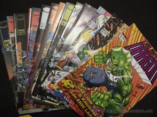 THE SAVAGE DRAGON. LOTE DEL 1 AL 14. IMAGE (Tebeos y Comics - Comics Pequeños Lotes de Conjunto)