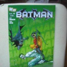 Cómics: BATMAN Nº 41 - DC 75 . PLANETA DEAGOSTINI. Lote 25654950