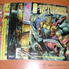 Cómics: WETWORKS. LOTE 6 COMICS Nº 1 AL 6. C4574. Lote 24592697