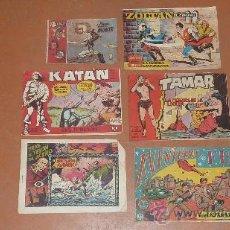 Cómics: LOTE DE COMICS ANTIGUOS. FBI, TAMAR, ZOLTAN, KATAN, AUDAK, TRAS EL TELON DE ACERO... VARIEDAD.. Lote 24595890