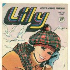 Cómics: LILY REVISTA JUVENIL FEMENINA Nº 947 - CON ENTREVISTA A MARISOL - SIN POSTER. Lote 24826344