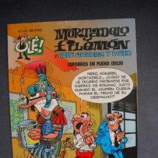 Cómics: MORTADELO Y FILEMON Y PEPE GOTERA Y OTILIO - CEPORROS EN PLENO IDILIO. Lote 26296940