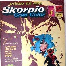 Cómics: SKORPIO LIBRO DE ORO # 6 ED RECORD 1978 BRECCIA OESTERHELD ALVAR MAYOR WOODY ALLEN, BURTON 128 P IMP. Lote 25076952