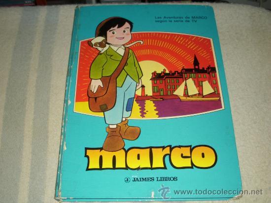 MARCO SERIE TV - JAIMES LIBROS - 1977 -CAJA DE AHORROS POPULAR DE VALLADOLID (Tebeos y Comics Pendientes de Clasificar)