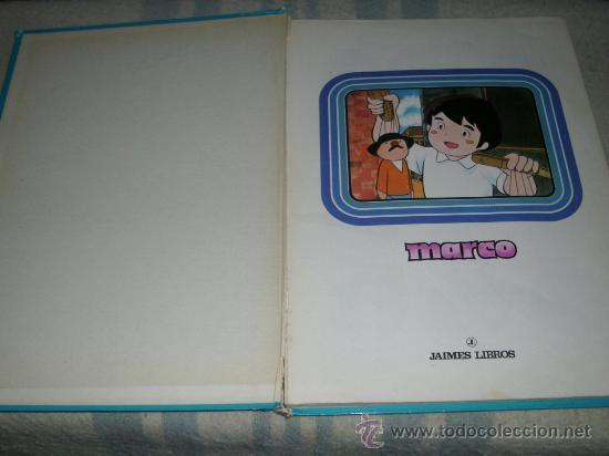 Cómics: MARCO SERIE TV - JAIMES LIBROS - 1977 -CAJA DE AHORROS POPULAR DE VALLADOLID - Foto 3 - 25116617