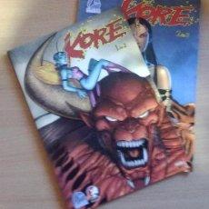 Cómics: KORE Nº 1 Y 2. JOSH BLAY LOCK / TIM SELLEY. EDIT. ALETA. Lote 25120655