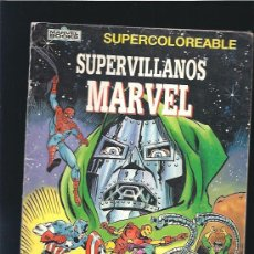 Cómics: SUPERVILLANOS MARVEL. Lote 25130871