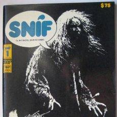 Cómics: COMIC MEXICANO.. SNIF Nº 1. AÑO 1980. ENVIO CERTIFICADO GRATIS¡¡¡. Lote 27109168