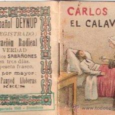 Cómics: CUENTOS INFANTILES. SERIE 2ª. Nº 1. CARLOS EL CALAVERA.. Lote 25348343
