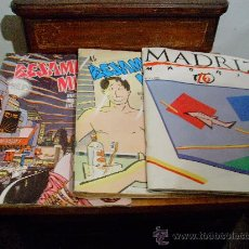 Cómics: LOTE 3 COMICS -BESAME MUCHO Y MADRIZ-. Lote 26095204