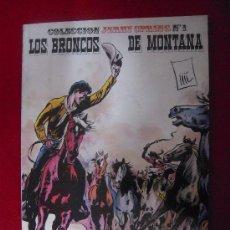 Cómics: LOS BRONCOS DE MONTANA -JERRY SPRING 1 - EDICIONES RO - TAPA BLANDA. Lote 26213721