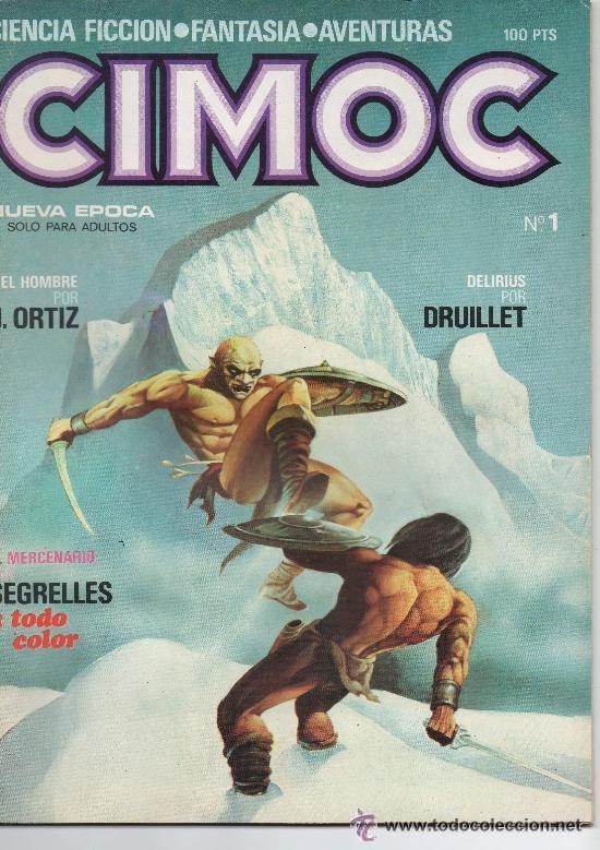 CIMOC COLECCION COMPLETA 176 NUM. NORMA EDITORIAL (Tebeos y Comics - Comics Colecciones y Lotes Avanzados)
