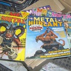 Cómics: METAL HURLANT. 1981 8 NUMEROS . 1-2-10-11-23-24-25-28. Lote 26989500