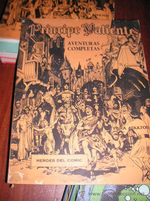 PRINCIPE VALIENTE TOMO NUMERO 1 CON 6 AVENTURAS REGALADO (Tebeos y Comics - Buru-Lan - Principe Valiente)
