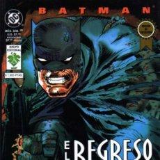 Cómics: BATMAN EL REGRESO DEL CABALLERO NOCTURNO - MILLER/JANSON/VARLEY - GRUPO EDITORIAL VID. Lote 27703468