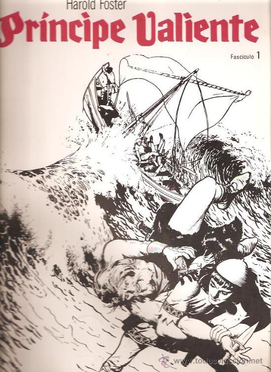 PRINCIPE VALIENTE 1 (Tebeos y Comics - Buru-Lan - Principe Valiente)