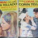 Cómics: FOTONOVELAS CORIN TELLADO CORAL Nº 57 Y 65. Lote 27801348