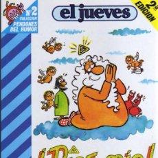 Cómics: DIOS MIO - JOSE LUIS MARTIN - COL. PENDONES DEL HUMOR Nº 2 - ED. EL JUEVES. Lote 27850786
