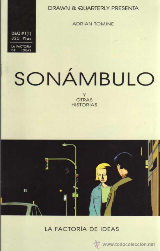 SONÁMBULO Y OTRAS HISTORIAS Nº 1 - ADRIAN TOMINE - LA FACTORIA DE IDEAS (Tebeos y Comics - Comics otras Editoriales Actuales)
