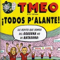 Cómics: TMEO - Nº 70. Lote 27882364