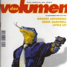 Cómics: VOLUMEN 2 - Nº 9 - GUIA MENSUAL DE COMIC - UNDER COMICS . Lote 27897693