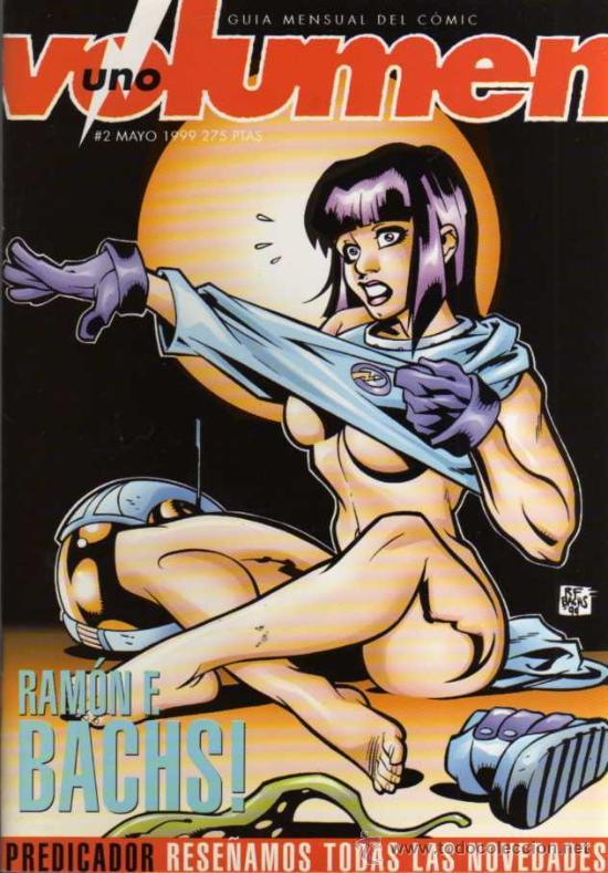 VOLUMEN 1 - Nº 2 - GUIA MENSUAL DE COMIC - UNDER COMICS (Tebeos y Comics Pendientes de Clasificar)