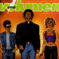 Cómics: VOLUMEN 1 - Nº 2 - GUIA MENSUAL DE COMIC - UNDER COMICS. Lote 27939472