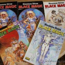 Cómics: LOTE DE 5 COMICS BLACK MAGIC SERIE COMPLETA. Lote 27993346