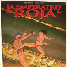 Cómics: DUFAUX Y ADAMOV / LA EMPERATRIZ ROJA / TOMO 4 / LAS GRANDES CATACUMBAS. Lote 28172933